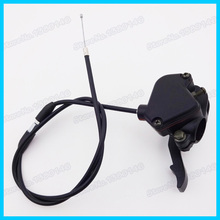 Thumb Throttle & Gas Control Housing Throttle Cable For 50cc 70cc 90cc 110cc 125cc ATV Quad Sunl Motorcycle(China)