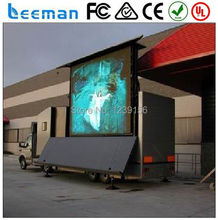 Leeman best selling products in europe outdoor advertising solar power mobile rental trailer led sign mobile trailer sign