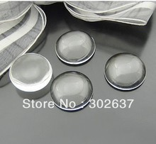 FREE SHIPPING 20PCS Round 16MM Clear Transparent Domed Magnifying Glass Cabochon Cover #22639