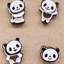 Kitchen 1 set Cute Panda Shape Cake Decorating Mold Cookie Biscuit Bread Toast Rice Cutters Mould(China)