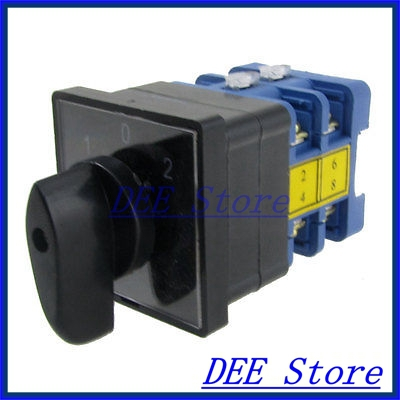 AC 380V on/off/on Rotary Cam 3 Position Universal Changeover Switch Nufli<br><br>Aliexpress