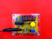 DIY Kits 1Hz-50MHz Crystal Oscillator Tester Frequency Counter Meter + Case