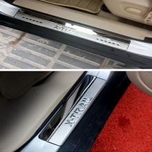 Car styling Door Sill Scuff Plate Trim Protector For Nissan X-Trail X trail Rogue T32 2014(China)