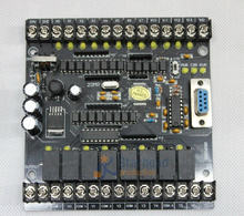 20MR 20MT Black Control Board 32bit for Mitsubishi FX1N PLC,STM32 MCU 12 input & 8 output Relay Module 24VDC