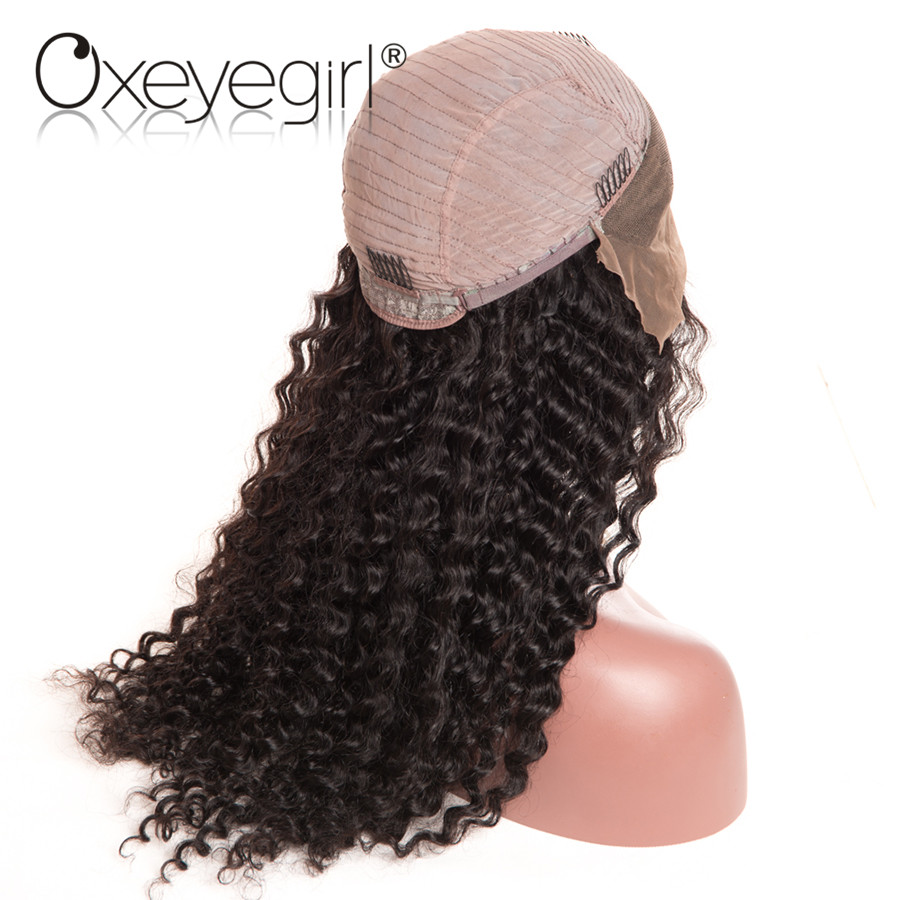 HTB1iOhnQFXXXXaCXVXXq6xXFXXXz - Oxeye girl Lace Front Human Hair Wigs With Baby Hair Deep Wave Brazilian Hair Wigs For Women Natural Black None Remy Lace Wig