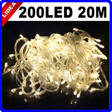20M 200 LED 9 Colors Wedding Garden Xmas Garland LED Christmas Decoration Outdoor Fairy String Navidad New Year Light CN C-32