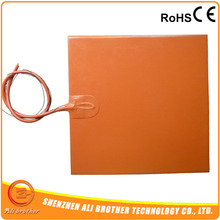 Silicone heating pad heater 300x300mm 220v 600w(China)
