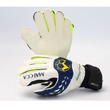 MAICCA Professional Soccer goalie gloves latex Adult Football goalkeeper glvoes finger protector Wholesale