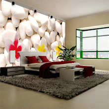 beibehang wall Modern 3d wall murals photo wallpaper flowers for Tv sofa background wall wallpaper Curve stripe papel de parede