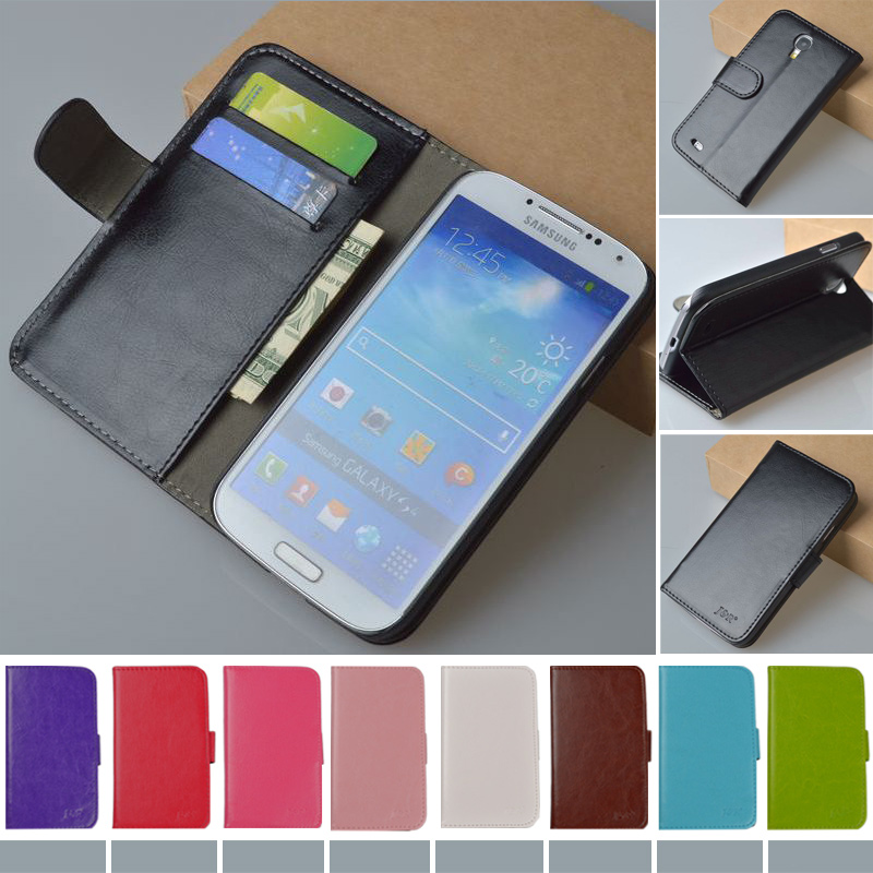 Luxury Flip PU Leather Case Samsung Galaxy S4 i9500 GT-i9500 GT-i9505 i9505 i9506 Phone Bag Vintage Cover JR Brand
