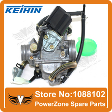 KEIHIN 24mm GY6125cc/150cc (157QMJ/152QMI) Engine Carburetor PD24J  With Electric Choke Fit  ATV Motorcycle Scooter