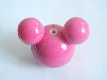 High Quality Cartoon Mickey MP3 Player Built in 2GB Memory With Retail Box 9 Color 200pcs/lot