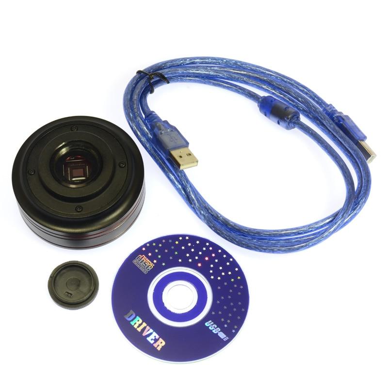 USB Microscope Camera 5.0MP CMOS Calibrator Digital Industry C-mount Microscopes Camera Magnifier USB  PCB Lab Inspection<br><br>Aliexpress