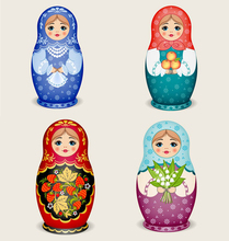 DIY 5d diamond painting cross stitch Russian Doll mosaic pictures full painting rhinestones 5d diamond embroidery needlework