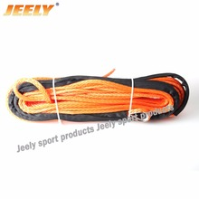 Free Shipping 4mm x 30m Synthetic Winch Rope UHMWPE Fiber Rope Towing Cable Car Accessories For 4X4/ATV/UTV/4WD/OFF-ROAD