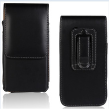 4.8 to5.5 inch Universal Wallet Waist Belt Clip Pouch Leather Case For LG G3 D855 General Cover Case For Bluboo X550 Cubot X10
