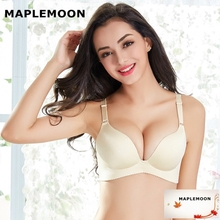 Pearl complexion bra received deputy breast sexy lingerie girl Bra & Brief Sets new One piece wire free push up Dropshipping
