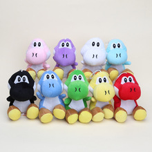 18cm 9 styles plush doll Super Mario Bros Yoshi Plush soft Stuffed toys Dolls Mario Plush Toys with suck for gifts collection