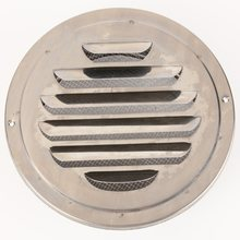 Metal Circle Air Vent Grille Round Ducting Ventilation Cover Ceiling Wall(China)