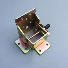 Folding Hinge FOR Table Legs / 90 Unilateral self-locking / Coffee Table Furniture Hardware Accessories 4PCS(China)