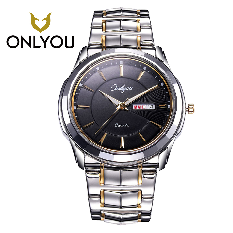 Mens Stainless Steel Wristwatches Military Watch Waterproof Womans Watches Sport Quartz Watch luxury Clock Top Brand Watch <br>