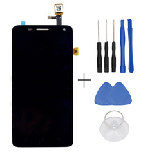 For Lenovo S660 LCD Display +Touch Screen Digitizer Panel Glass Screen Assembly Replacement Free Shipping - In Stock