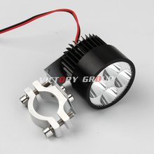 1pcs LED Daytime Running Light 12v-80v Spot Motorcycle Motor Bike ATV DRL Super Bright Aluminum LED Headlight lamp Day Light Kit