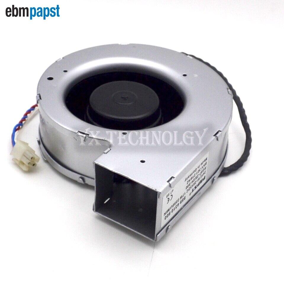 ebm papst  centrifugal fan cooling fan blower fan 24V 17W RG97-25  24-500A  138 * 140 * 40<br>