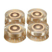 Best Price High Quality Gold Speed Control Knobs Set 4 Pcs Volume Tone Buttons For Gibson Electric Guitar