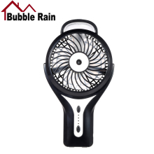 Bubble Rain A58 Portable Mini Fan Rechargeable USB Fans Mini Air Conditioner Quiet Air Cooler Home Electric Fans for Office