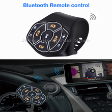 Buy New Wireless Bluetooth Remote control Media button Car Steering Wheel Bike Samsung iphone Music Photo Remote control for $14.82 in AliExpress store