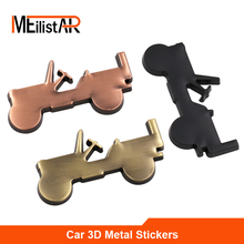 3D Metal Off-road SUV Car sticker logo Emblem Badge Styling Jeep Bmw Fiat VW Ford Audi Toyota Lada - MeiliStar 2 Store store