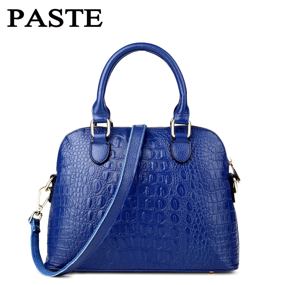 Luxury Alligator Women leather handbags First layer of cowhide shoulder cross-body Fashion women messenger bags Shell bags 2017<br><br>Aliexpress