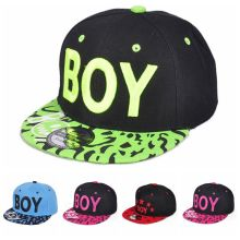 Kids 3D Letter BOY Cap Spring Summer Baby Boys Girls Baseball Caps Casual Adjustable Hip-Hop Snapback Sun Hat(China)