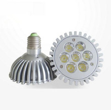 LED PAR30 5W/7W E27 dimmable LED lamp Umbrella bulblight 110V 120v 127v 220v AC95~250V(China)