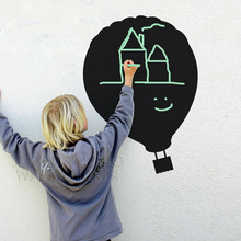 Home Decoration  Wallpaper Chalkboard Balloon Large Wall Decal Children's Room Nursery Vinyl Wall Sticker for home 43*60CM