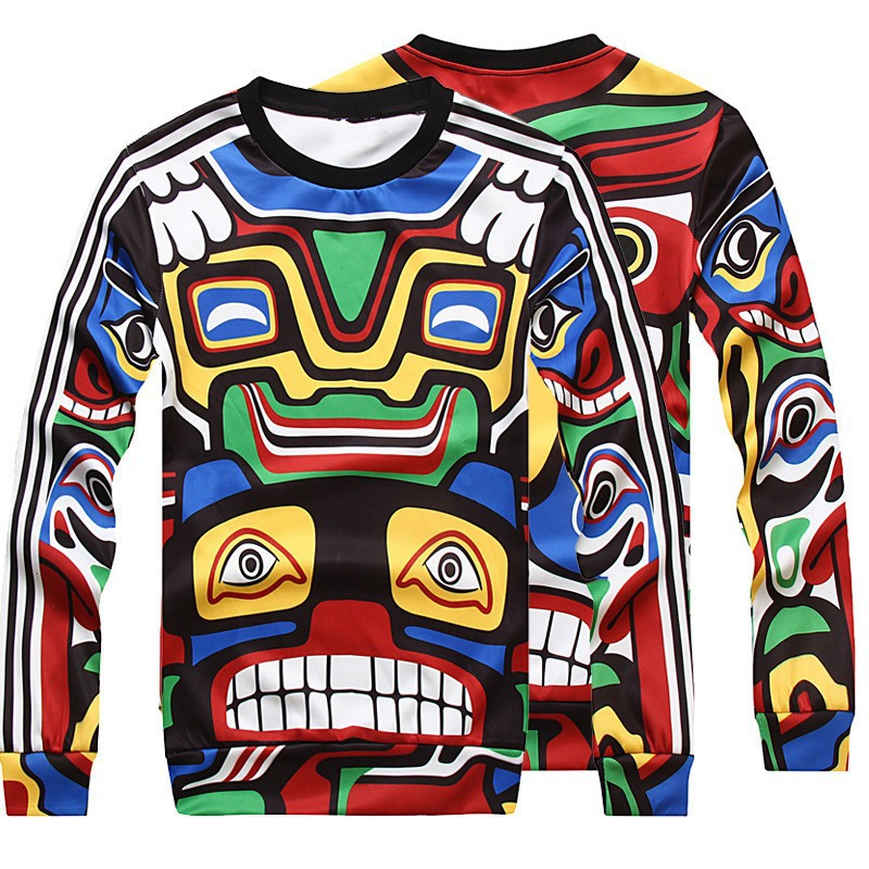 Aliexpress Com Maya Indian Totem Hoos For Men Women Brand Sweatshirts Hoody Casual Pullover Thin Style O Neck Long Sleeve Tops From