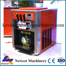 Professional High quality Commercial Electric Soft Ice Cream Maker Machine for factory price/Sundae maker machine