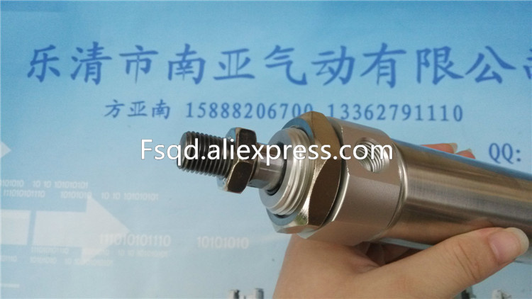 CDM2B40-200 SMC Stainless steel mini cylinder pneumatic air tools air cylinder Stainless steel cylinders<br>