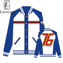 2017 High Quality Soldier 76 Jackets Cosplay Party Costume Fashion Sweatshirts Men Sport Coat(China)