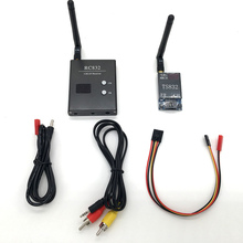 48Ch 5.8G 600mw 5km Wireless AV Transmitter TS832 Receiver RC832 for FPV Car Video wifi Rearview System Tx Rx Set for aircraft