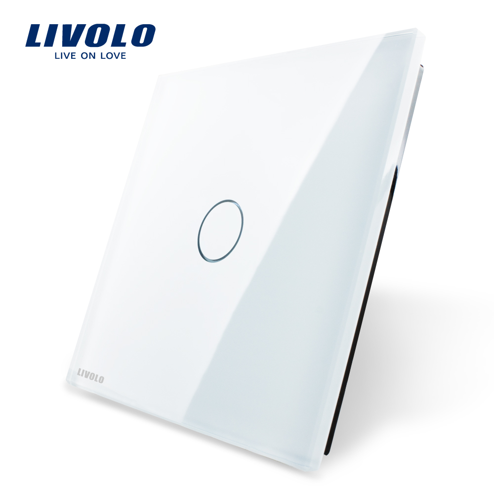 Luxury White Pearl Crystal Glass, 80mm*80mm, EU standard, Single Glass Panel For 1 Gang Wall Touch Switch,VL-C7-C1-11<br><br>Aliexpress