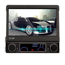 Single 1 DIN Car DVD Player autoradio GPS WIN8 UI Touch Screen Stereo Radio automotive+free map(China)