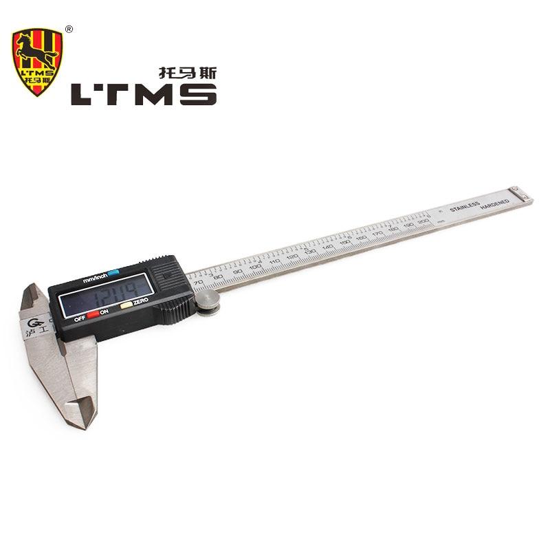 200mm 8 Stainless Steel LCD Digital Fiber Vernier Micrometer Gauge Accurate Measurement Widescreen Electronic Display Tools<br><br>Aliexpress