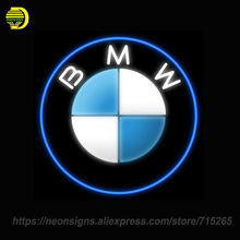 NEON SIGNS Brand CAR LOGO BMW Real glass Handcraft Neon Lamp Publicidad Art Sign Advertise Beer Bar Pub Light Sign Letrero neon