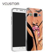 vcustom popular fascinating girl goddess white hard cases for Samsung Galaxy A7 phone case(China)