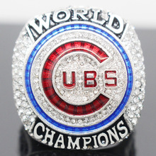 2016 Official Version Chicago Cubs Baseball Solid Championship Ring