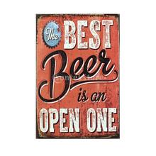 20x30cm Wine Beer Drinks Vintage Metal Sign Wall Tavern Home Pub Poster Decor