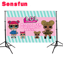 Buy Cartoon Surprise Doll Newborn Custom Photography Studio Backgrounds Children Birthday Party Photo Backdrops 7x5ft for $6.88 in AliExpress store