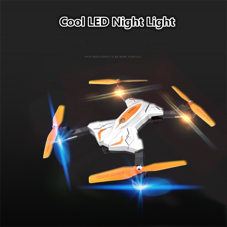 New fouldable RC helicopter TK111 2.4G one key return headless mode 720P camera WIFI real time remote control drone quadcopter